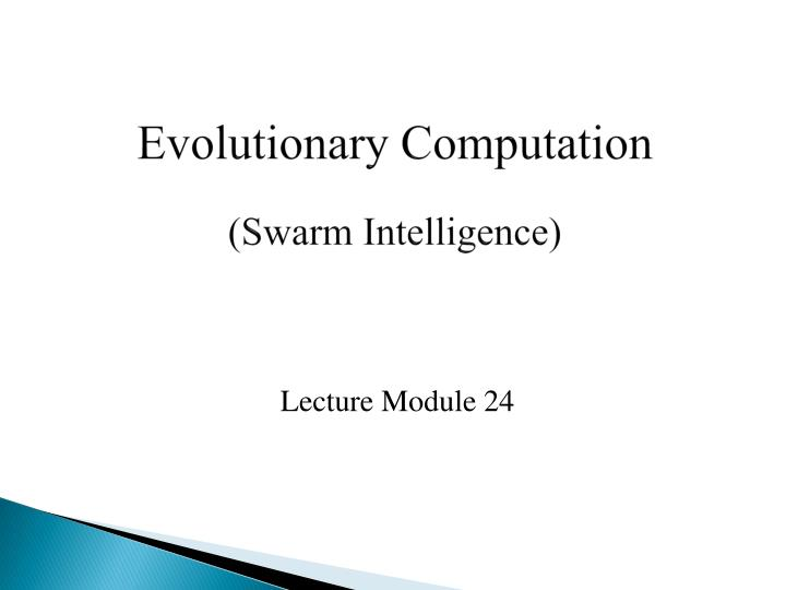 lecture module 24 n.