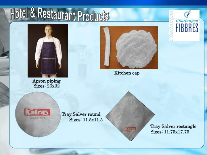 Hotel & Restaurant Products