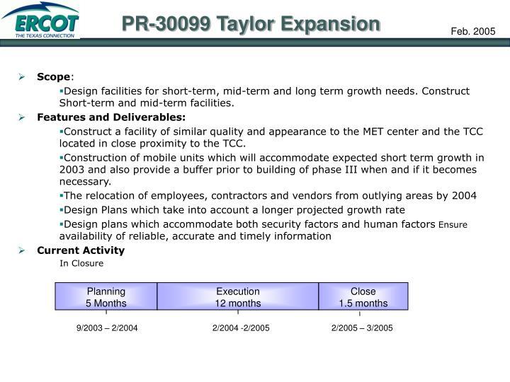 PR-30099 Taylor Expansion