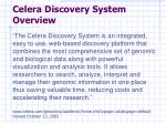 celera discovery system overview