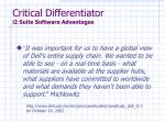 critical differentiator i2 suite software advantages1