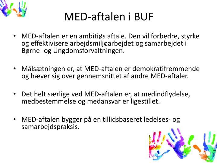 MED-aftalen i BUF