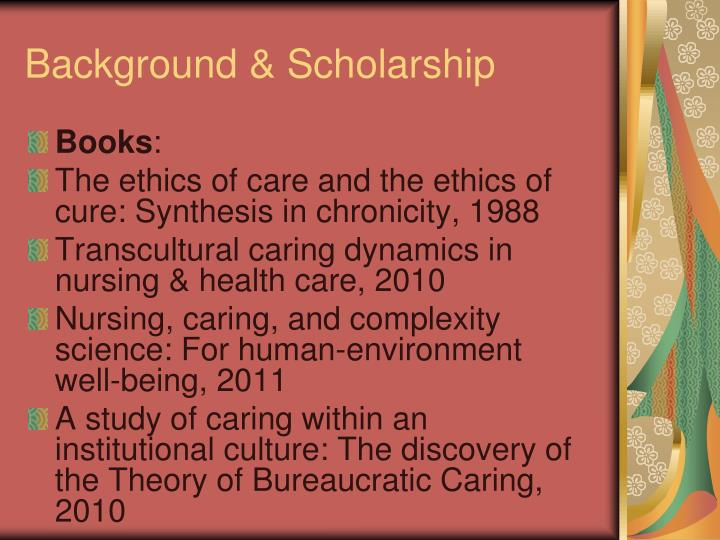the theory of bureaucratic caring for Start studying caring learn vocabulary, terms, and more with flashcards, games, and other study tools search create  theory of bureaucratic caring.