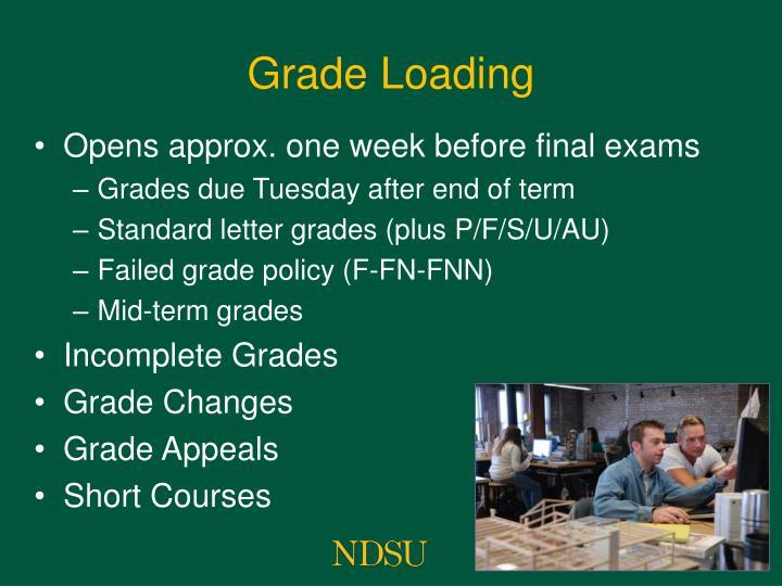 Grade Loading
