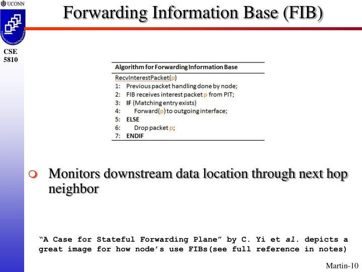 Forwarding Information Base (FIB)