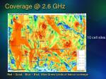 coverage @ 2 6 ghz