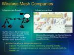 wireless mesh companies