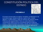 constituci n politica del estado