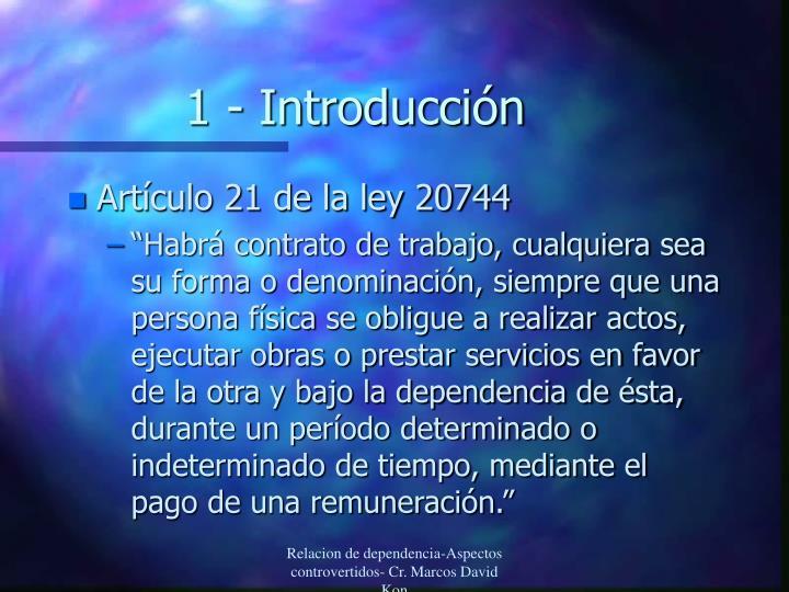 1 - Introducción