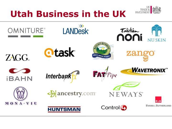 Utah Business in the UK