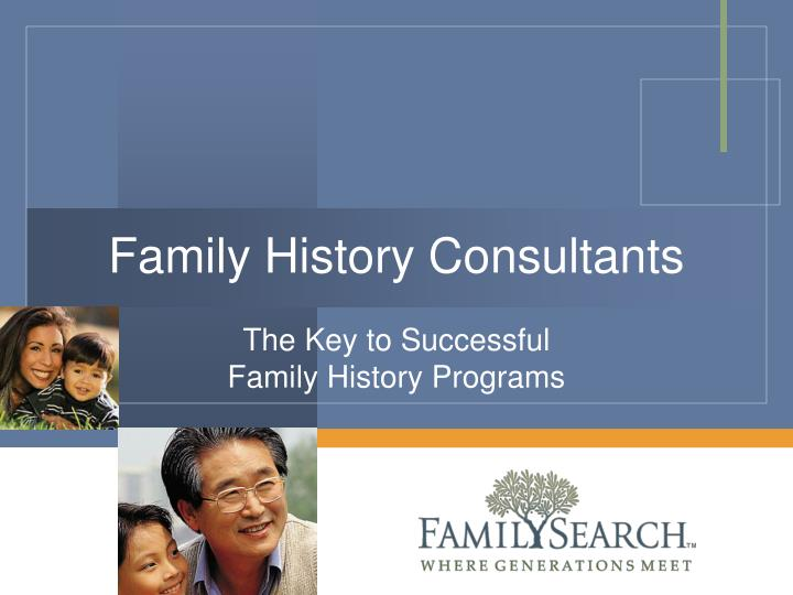 family history consultants n.