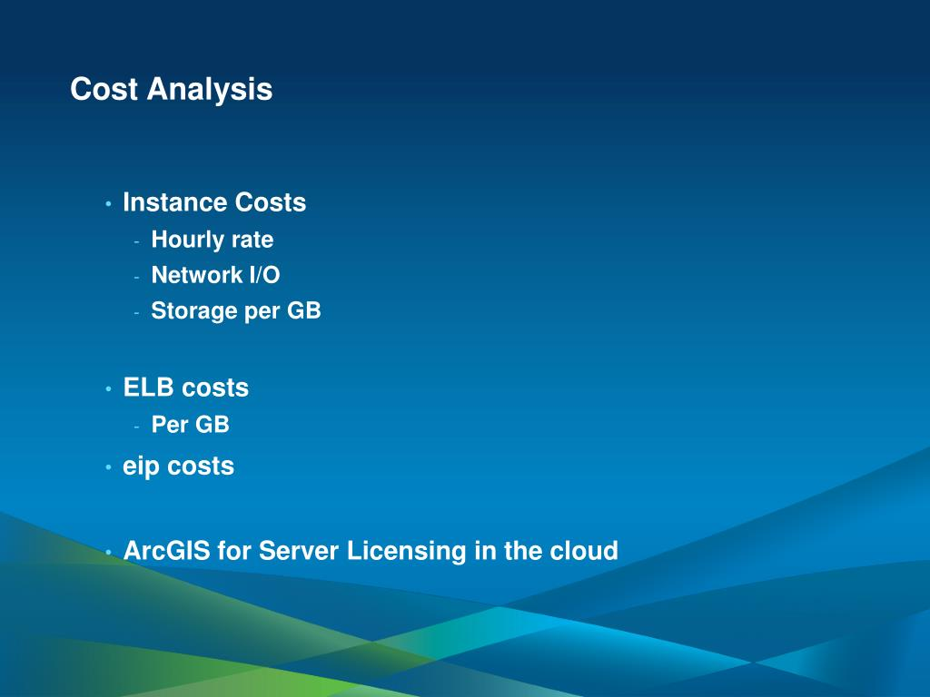 PPT - Using ArcGIS for Server in the Amazon Cloud PowerPoint