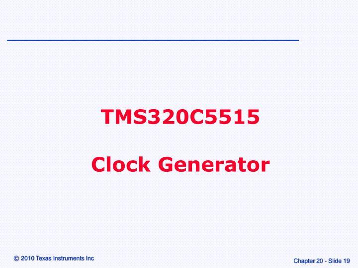 TMS320C5515