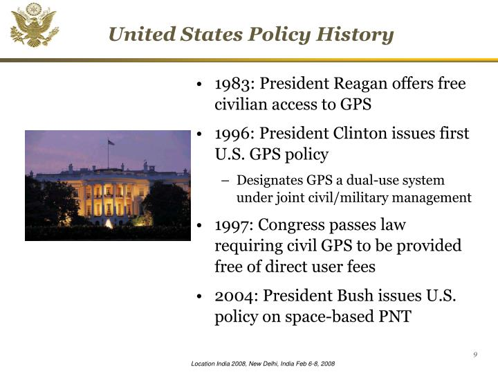 United States Policy History