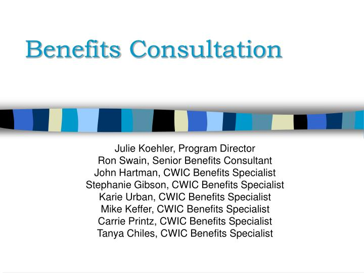 benefits consultation n.