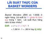 l i su t th c c a basket wonders