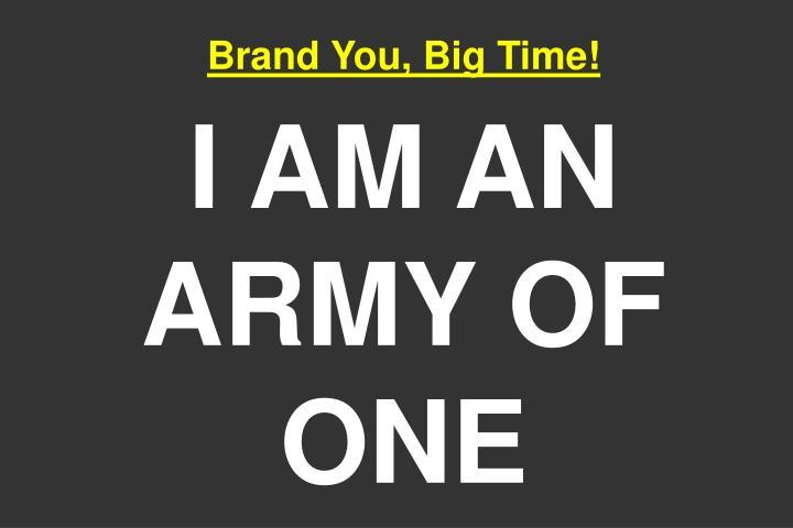 Brand You, Big Time!