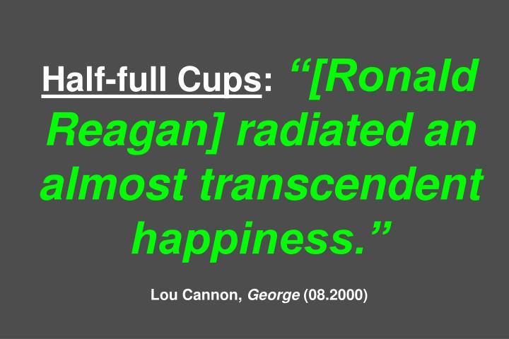 Half-full Cups