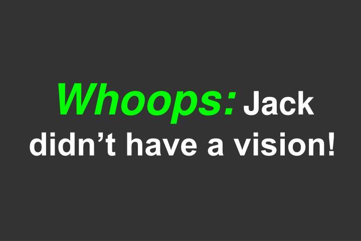 Whoops:
