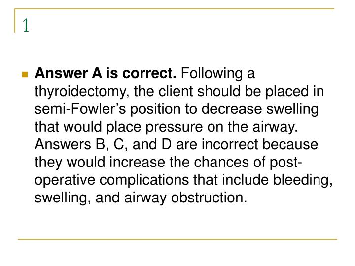 Endocrine questions