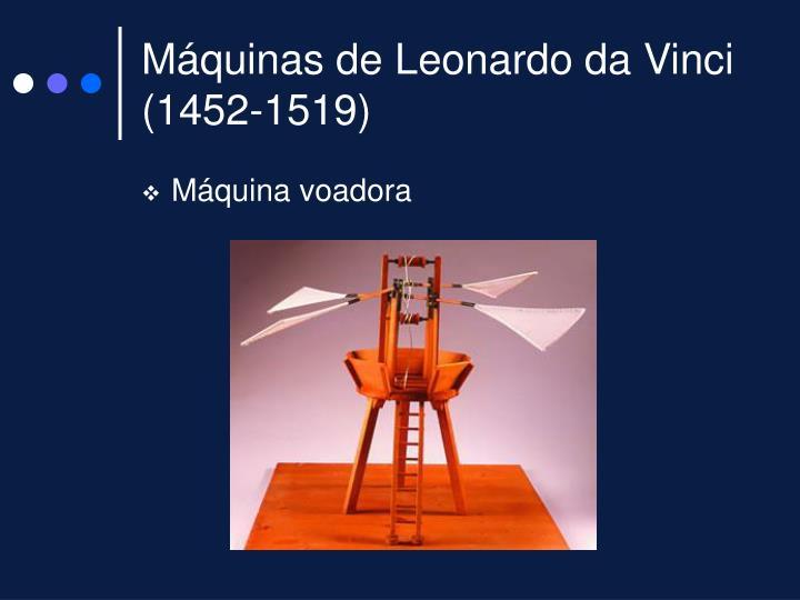 M quinas de leonardo da vinci 1452 1519