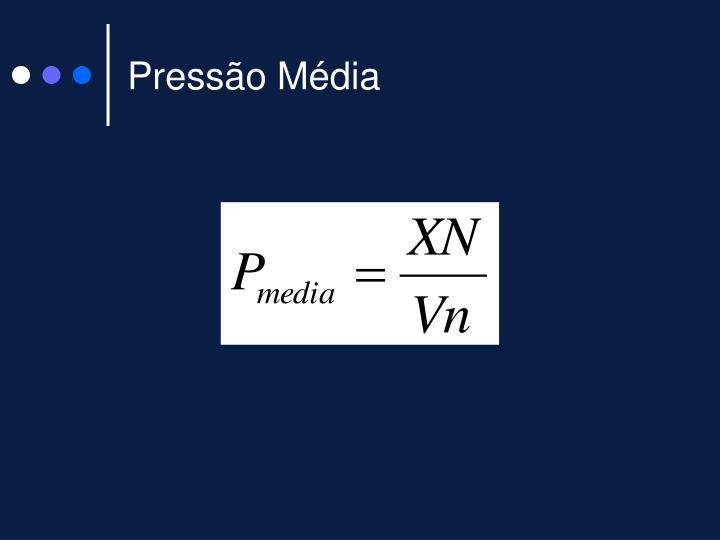 Pressão Média
