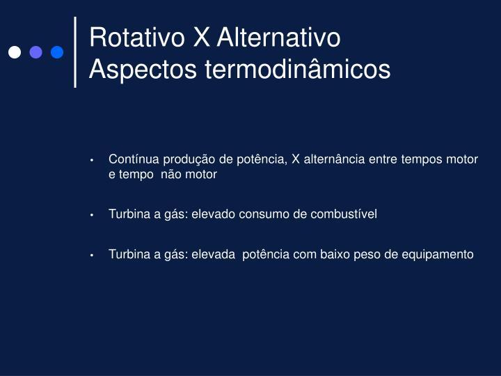Rotativo X Alternativo