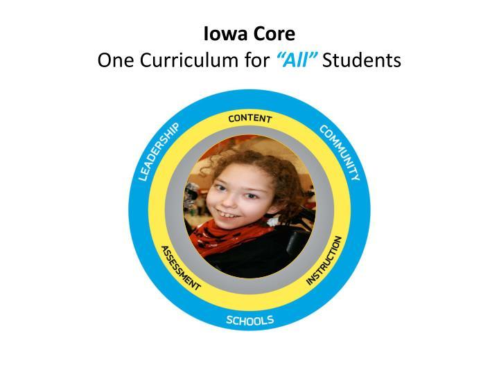 Iowa Core
