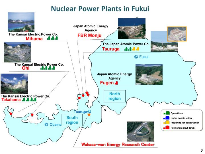 Nuclear Power Plants in Fukui