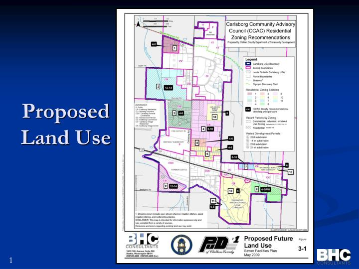 Proposed Land Use