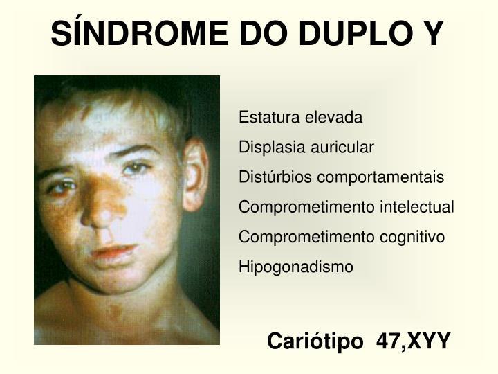 SÍNDROME DO DUPLO Y