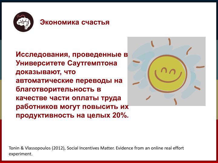 Экономика счастья