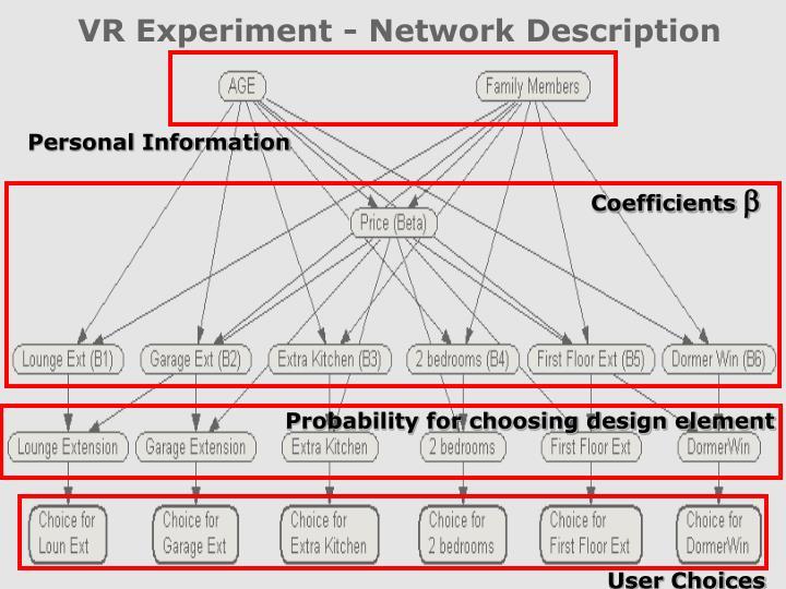 VR Experiment - Network Description