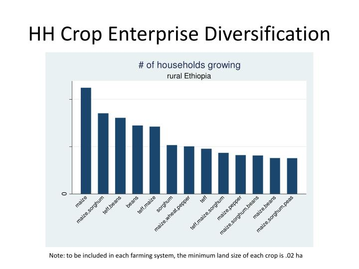 HH Crop Enterprise Diversification