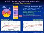 basic underlying event observables r field et al prd 65 2003 092002