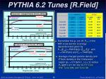 pythia 6 2 tunes r field1