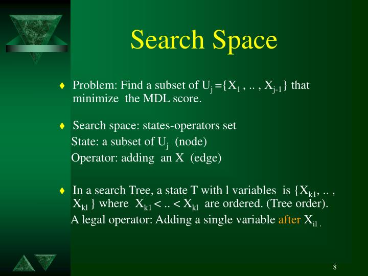 Search Space
