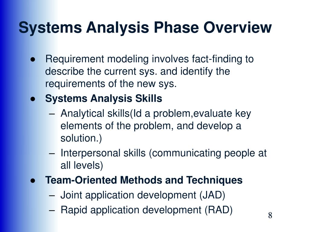Ppt Cosc 2810 Systems Analysis And Design Phase 2 Systems Analysis Chapter 3 4 5 Powerpoint Presentation Id 7086405