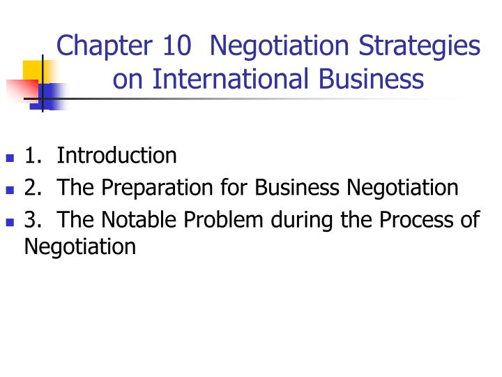 an introduction to the negotiation process - introduction: first of all negotiation is in a simple way is the process by which we obtain what we want from someone who wants something from us, more like a win-win situation therefore in this seminar a lot of issues were discussed within the area of negotiation.