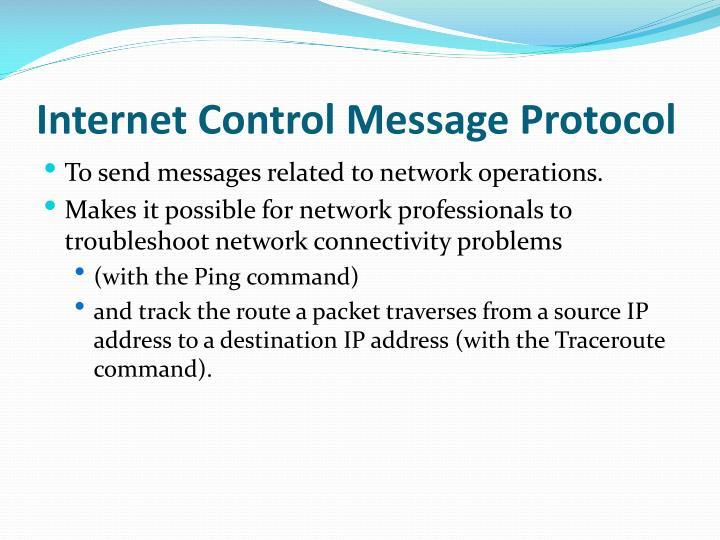 Internet Control Message