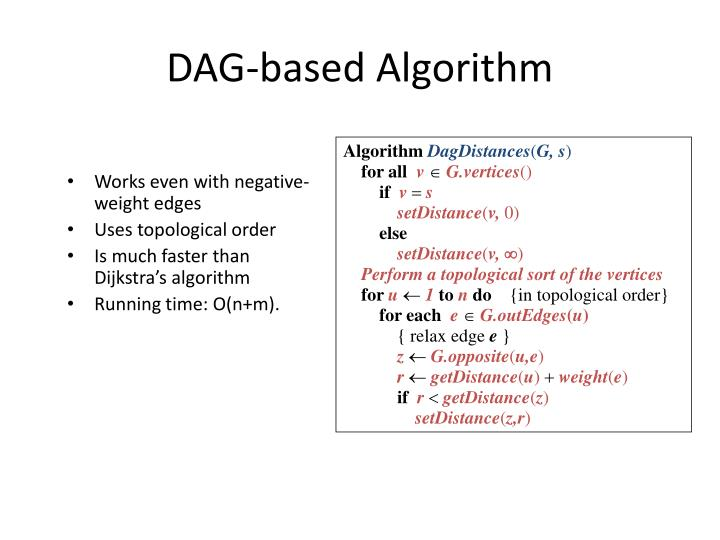 DAG-based Algorithm