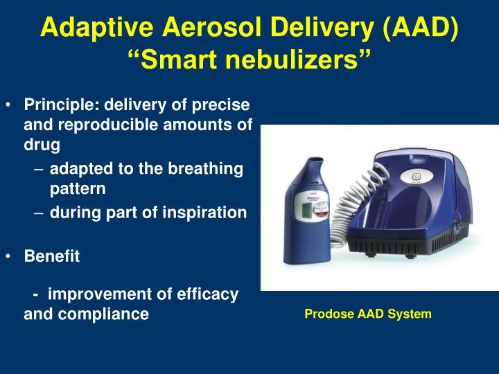 Adaptive Aerosol Delivery (AAD)