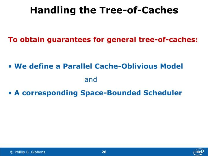 Handling the Tree-of-Caches