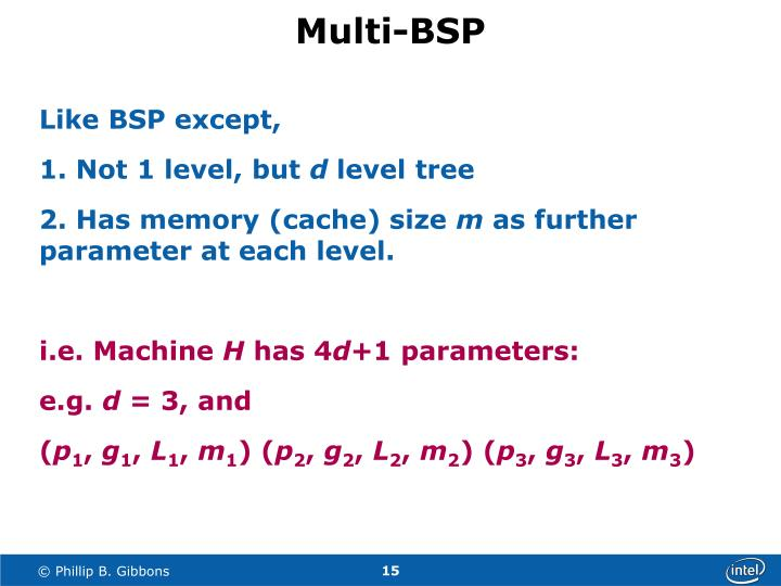 Multi-BSP