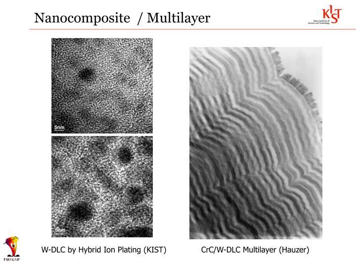 Nanocomposite  / Multilayer