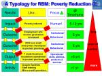 a typology for rbm poverty reduction 2