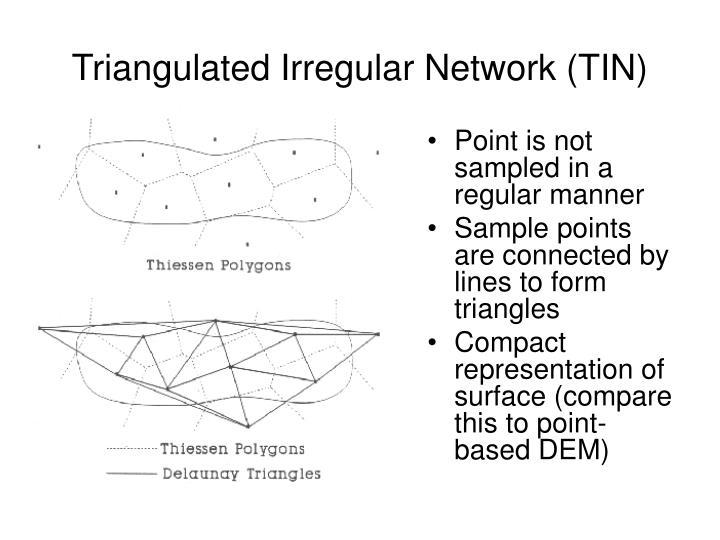 Triangulated Irregular Network (TIN)