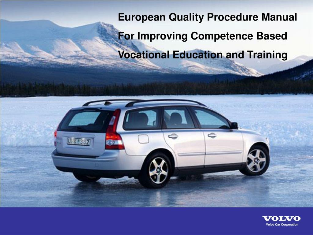 Ppt Volvo Car Corporation Powerpoint Presentation Id 7087653