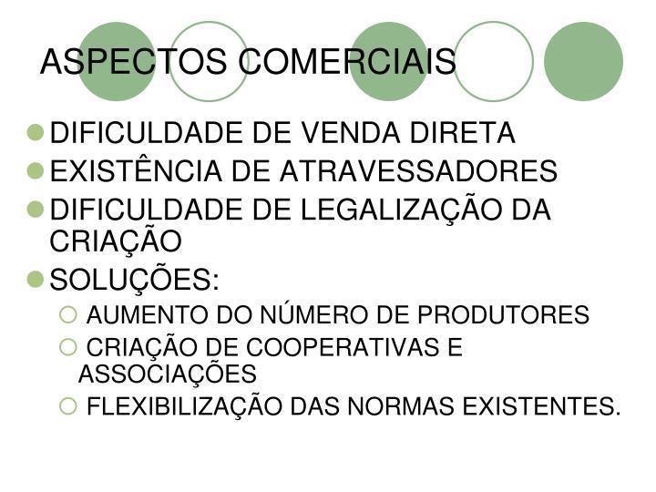 ASPECTOS COMERCIAIS