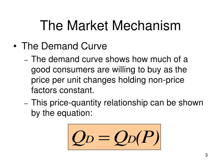 The market mechanism1